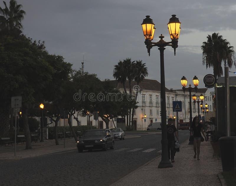 Download Faro Portogallo Al Crepuscolo Immagine Stock Editoriale - Immagine di portugal, sera: 117978834