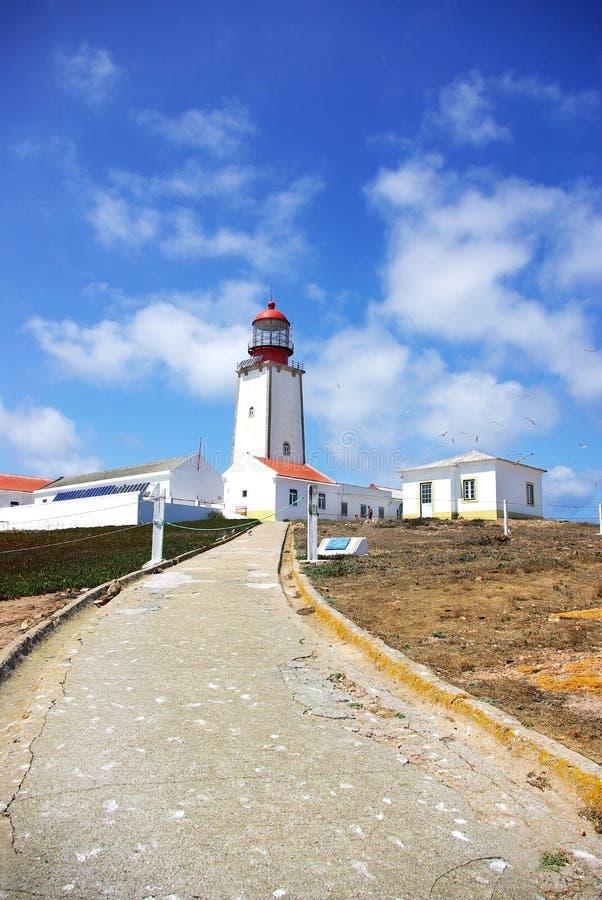 Faro portugués. fotos de archivo