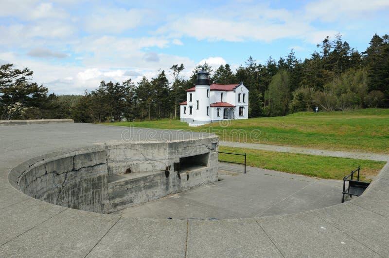 Faro principal del Ministerio de marina foto de archivo