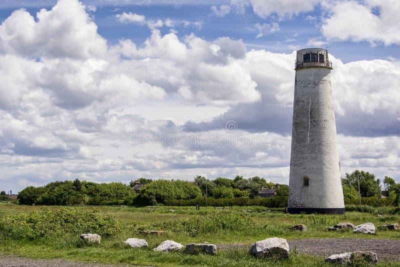 Faro Regno Unito wirral di Leasowe immagini stock libere da diritti