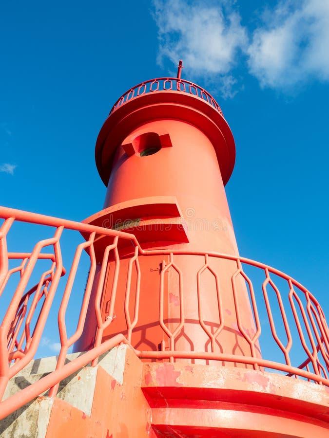 Faro rosso immagine stock libera da diritti
