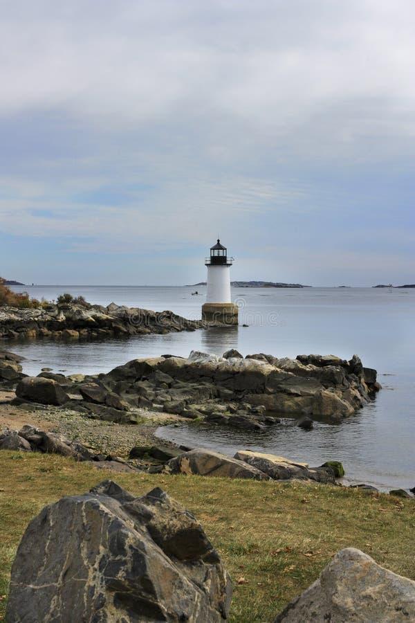 Faro a Salem, Massachusetts immagini stock libere da diritti
