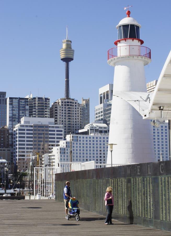 Faro Sydney imagen de archivo libre de regalías