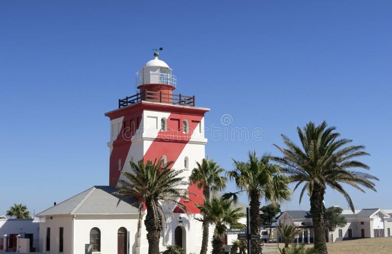 Faro verde del punto a Cape Town fotografia stock libera da diritti