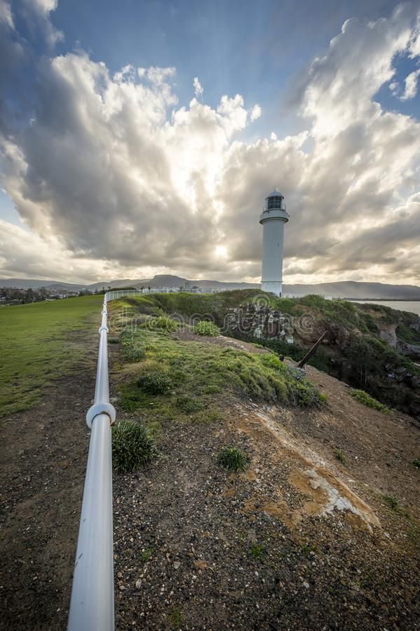 Faro a Wollongong Australia immagini stock libere da diritti