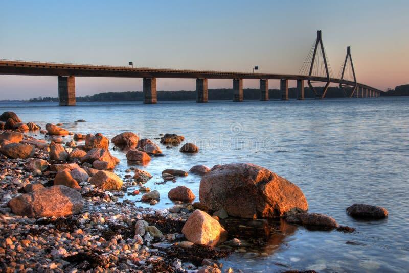 Faroe桥梁 库存图片