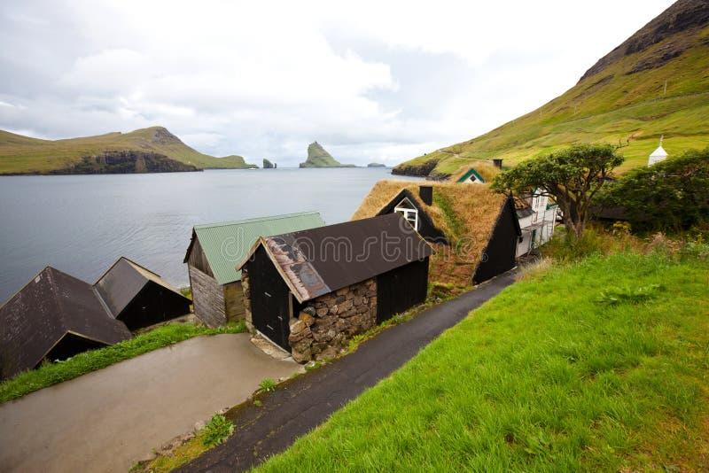Faroe stock afbeelding