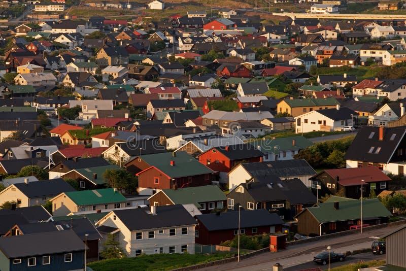 Download Faroe Island, Torshavn, Dinamarca Imagem de Stock - Imagem de coastline, montanha: 107526829