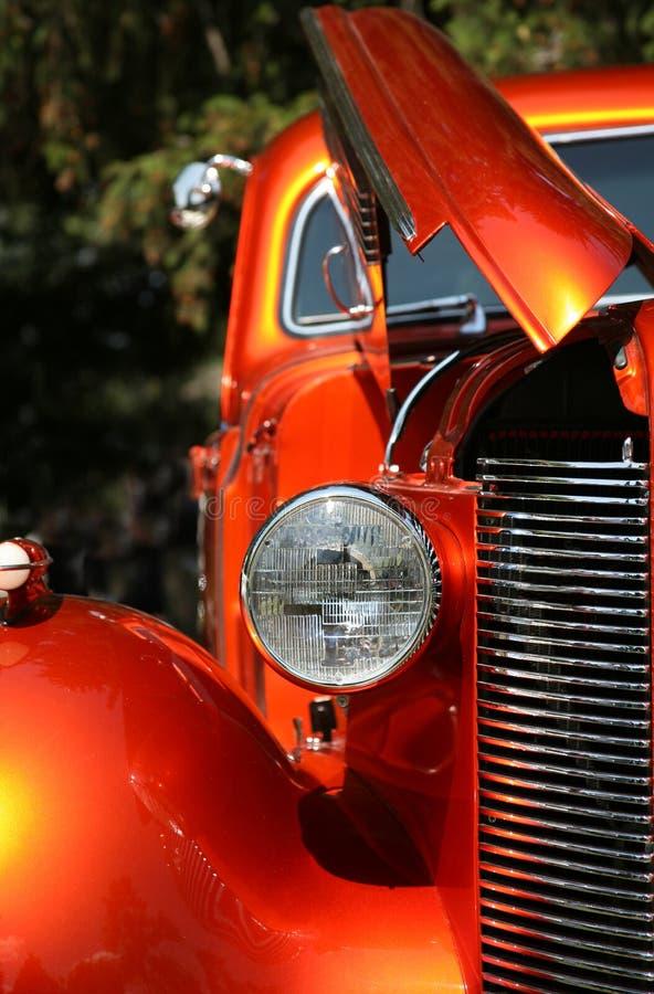 Farol clássico do carro fotografia de stock royalty free