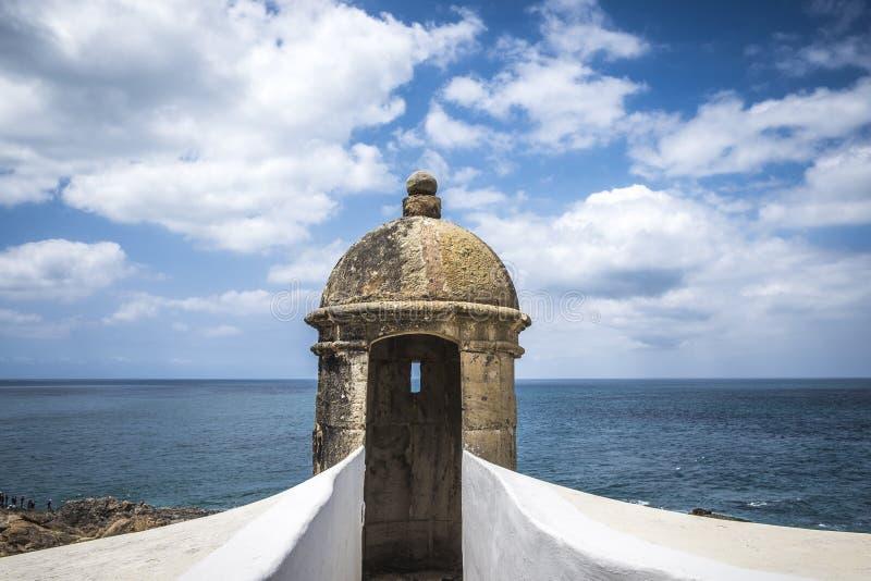 Farol DA Barra est maintenant le musée nautique du Bahia photographie stock libre de droits