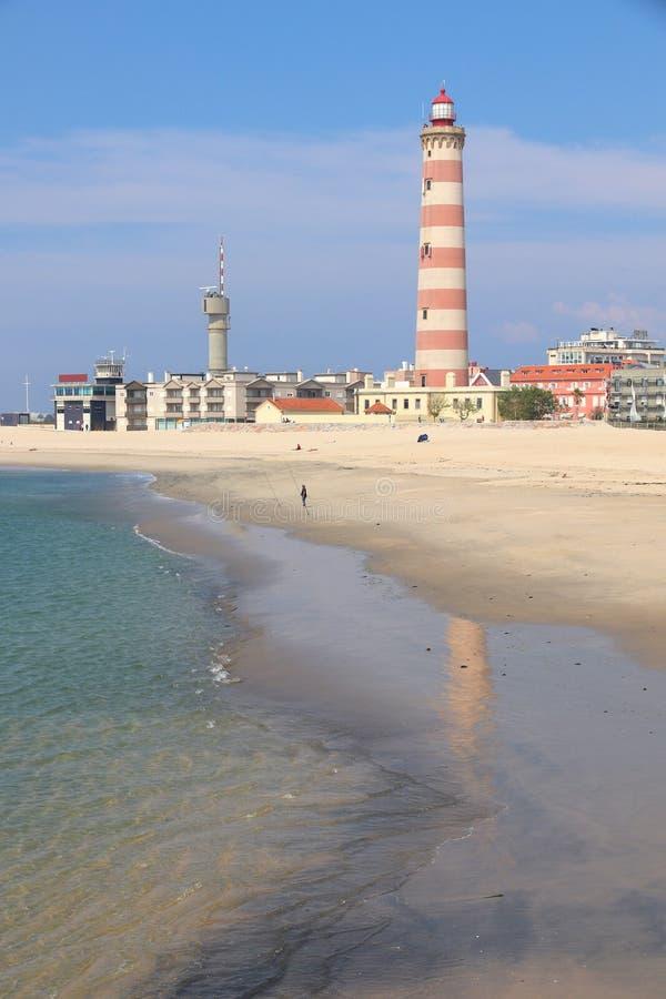 Farol DA Barra, Portugal image stock