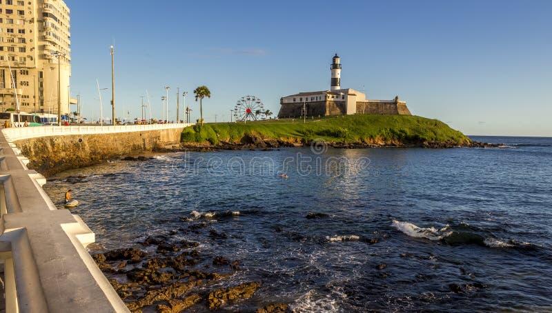 Farol DA Barra in Salvador royalty-vrije stock foto's