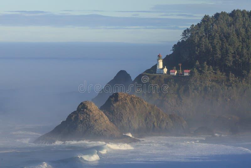 Farol da cabeça de Heceta, Oregon imagens de stock royalty free