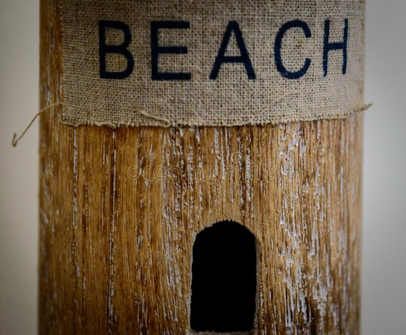 Farol da praia fotos de stock