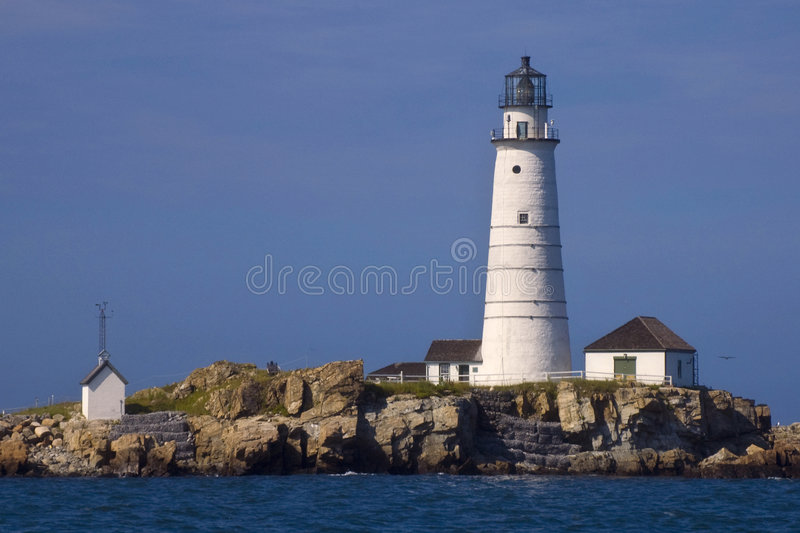 Farol de Boston fotografia de stock royalty free