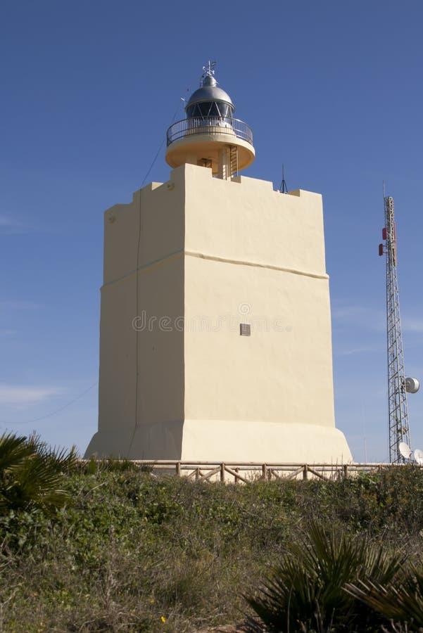 Farol de Cabo Roche foto de stock royalty free