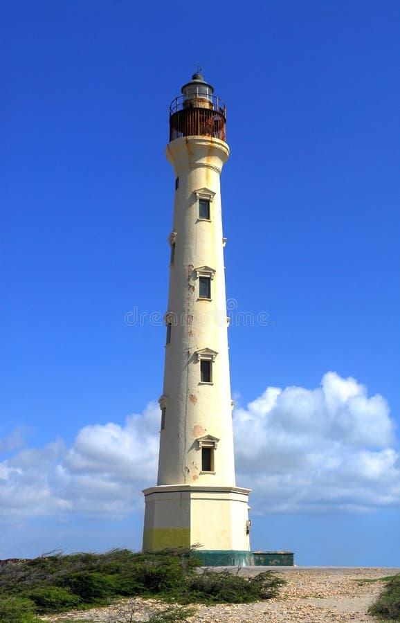 Farol de Califórnia em Aruba fotos de stock