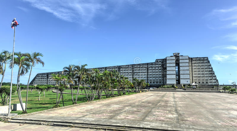 Farol de Columbo - Santo Domingo, República Dominicana imagens de stock