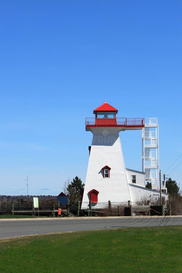 Farol de Fredericton imagens de stock