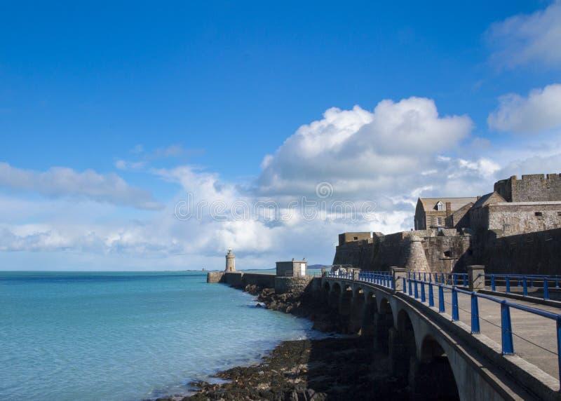 Farol de Guernsey fotografia de stock