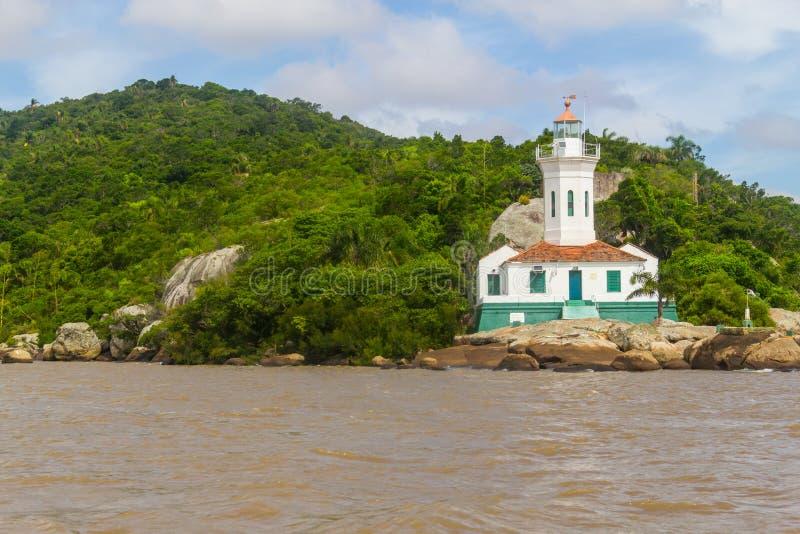 Farol de Itapua no lago Guaiba foto de stock royalty free