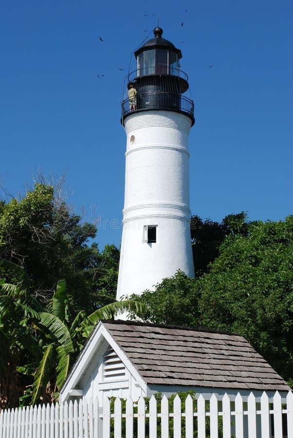 Farol de Key West fotos de stock