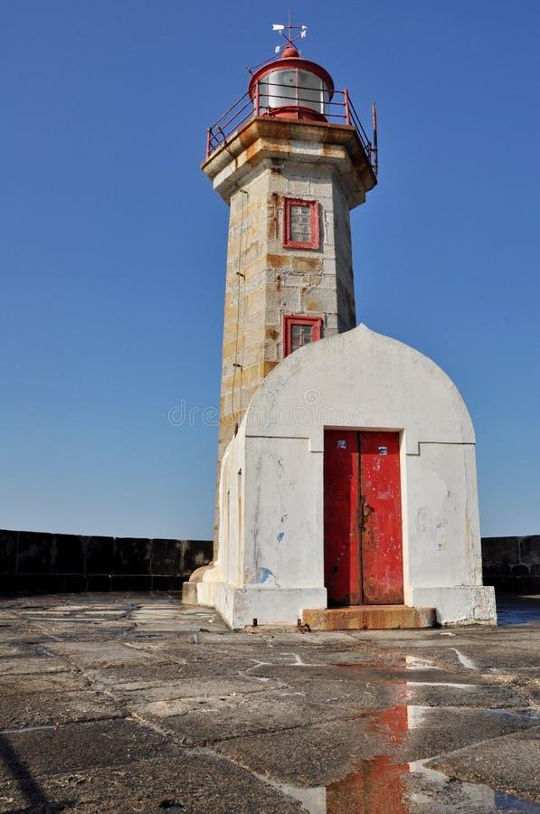 Farol de Porto imagem de stock