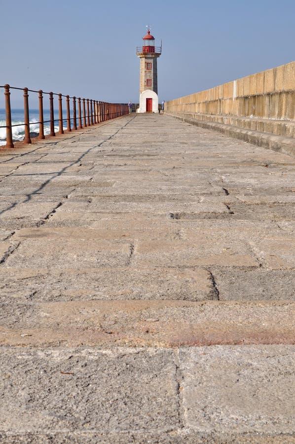 Farol de Porto fotos de stock
