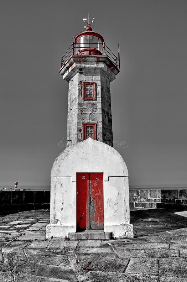 Farol de Porto foto de stock royalty free