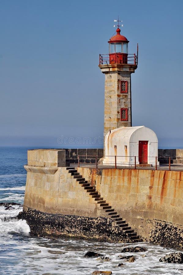 Farol de Porto foto de stock