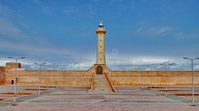 Farol de Rabat, Marrocos imagens de stock royalty free
