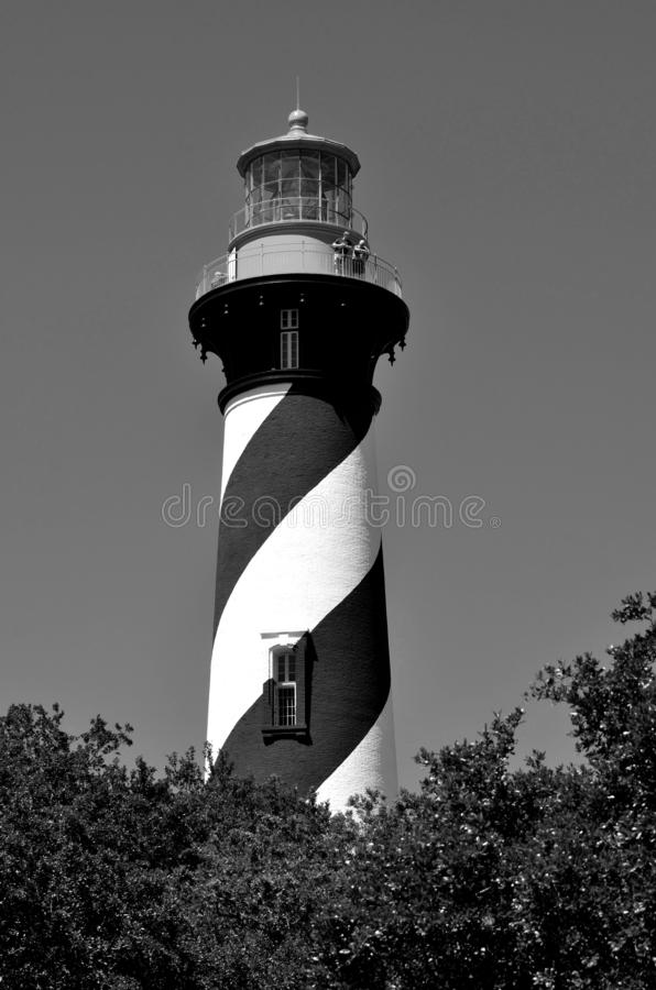 Farol de St Augustine histórico, Florida imagens de stock