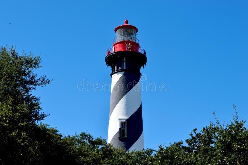Farol de St Augustine histórico, Florida imagens de stock royalty free
