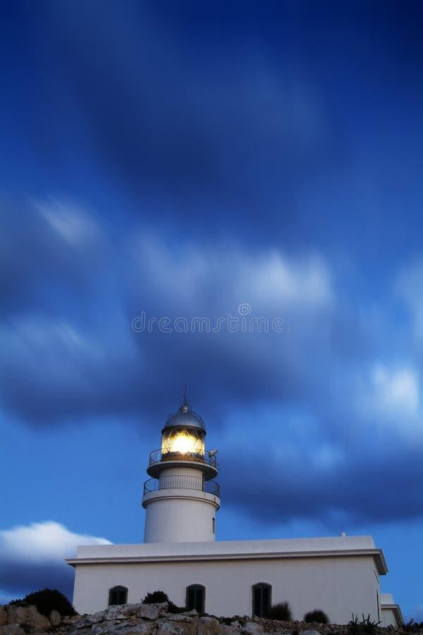 Farol de Tampão de Caballeria, Menorca. foto de stock royalty free