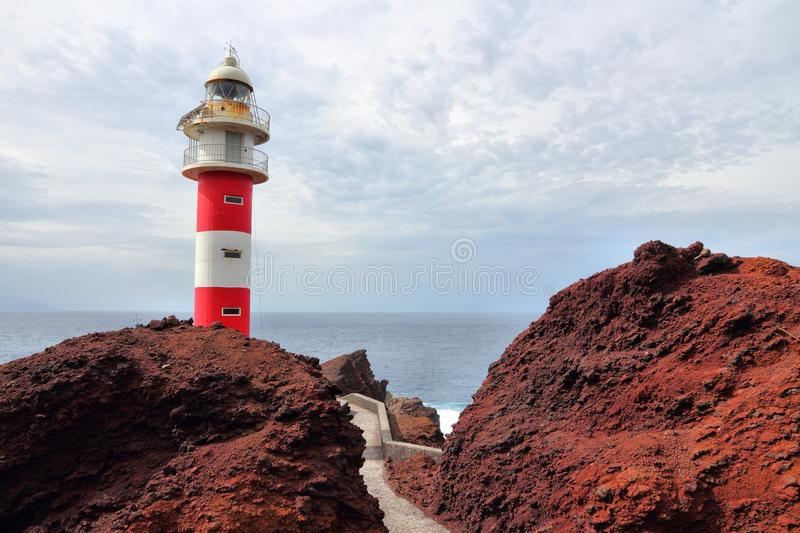 Farol de Tenerife imagens de stock