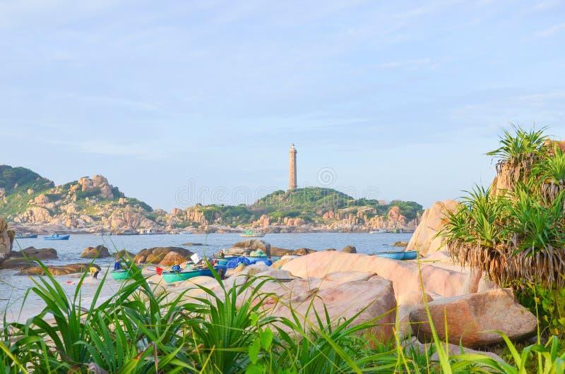 Farol do KE GA em Phan Thiet foto de stock