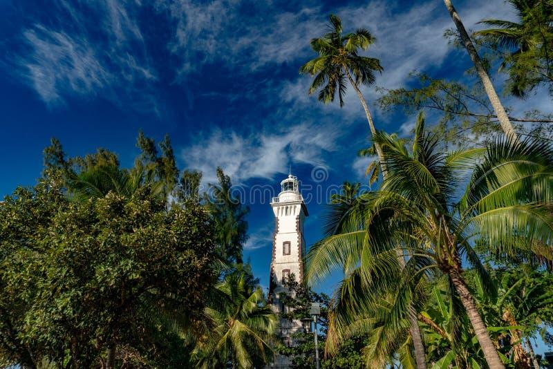 Farol do ponto do venus de Tahiti de robert louis stevenson imagens de stock