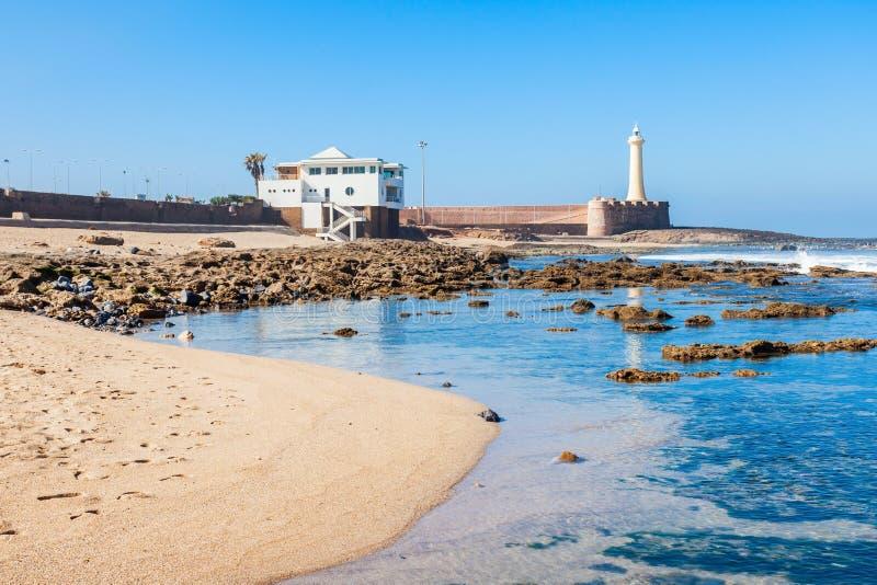 Farol em Rabat fotos de stock