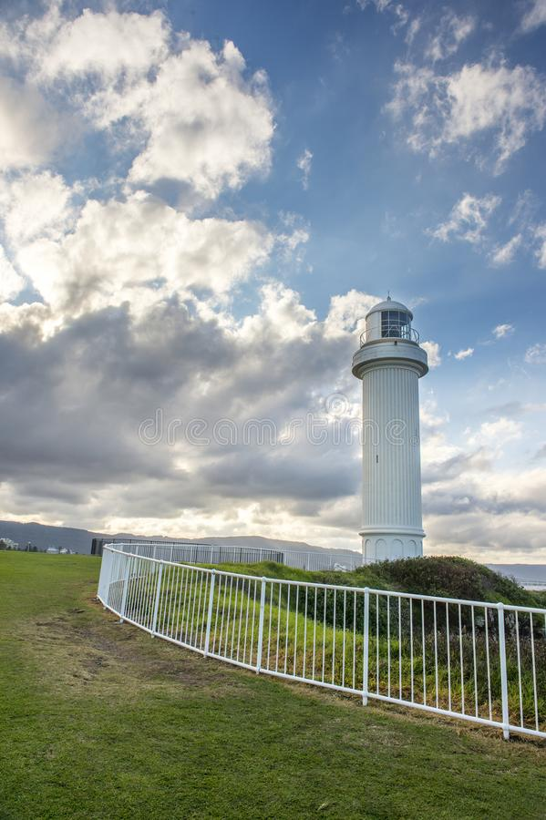 Farol em Wollongong Austrália foto de stock royalty free