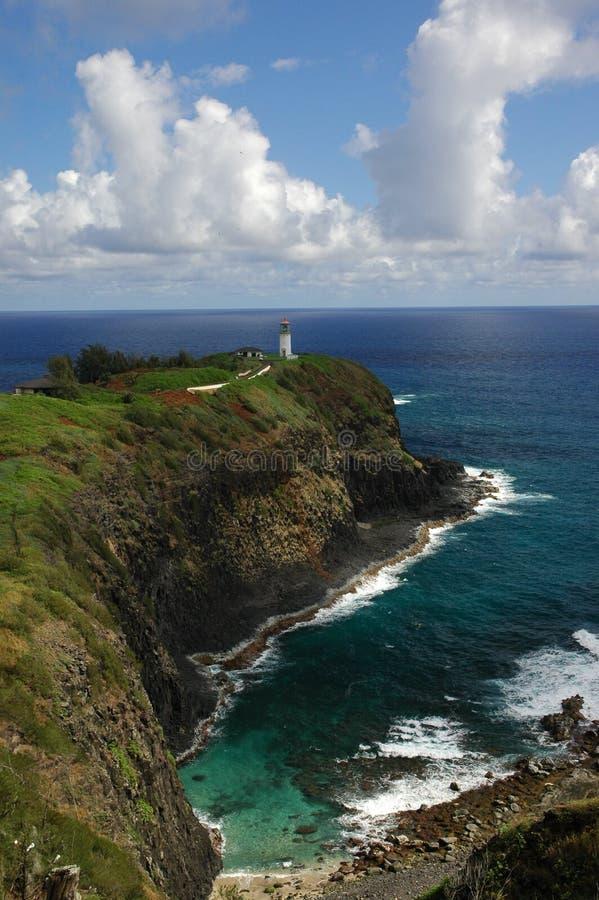 Farol havaiano - 2 fotografia de stock royalty free