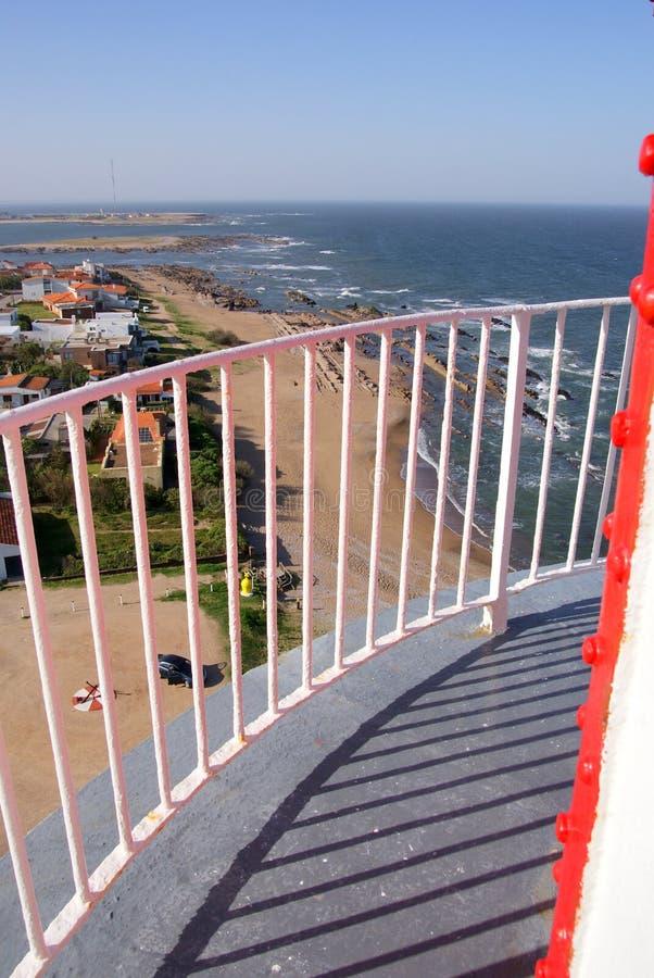 Farol, La Paloma, Uruguai imagem de stock