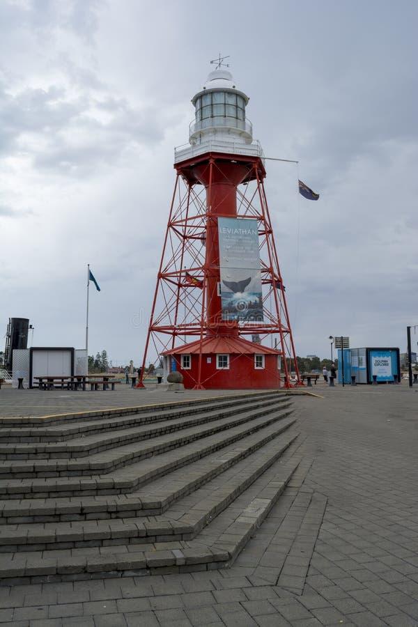 Farol portuário de Adelaide, Sul da Austrália imagem de stock royalty free