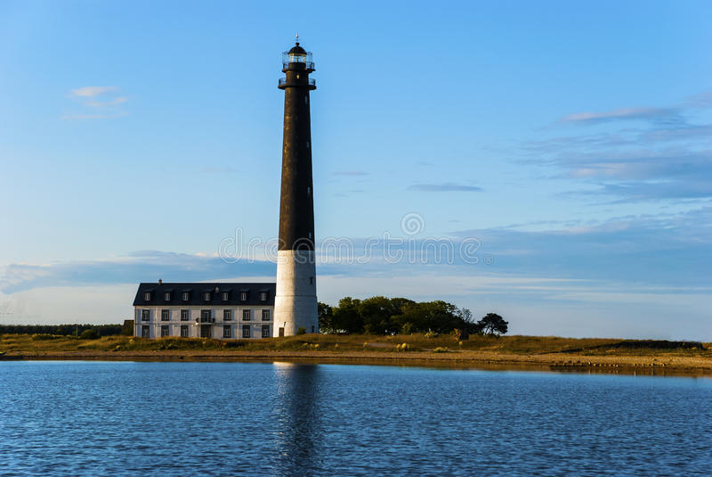 Farol Saaremaa Estônia de Sorve foto de stock royalty free
