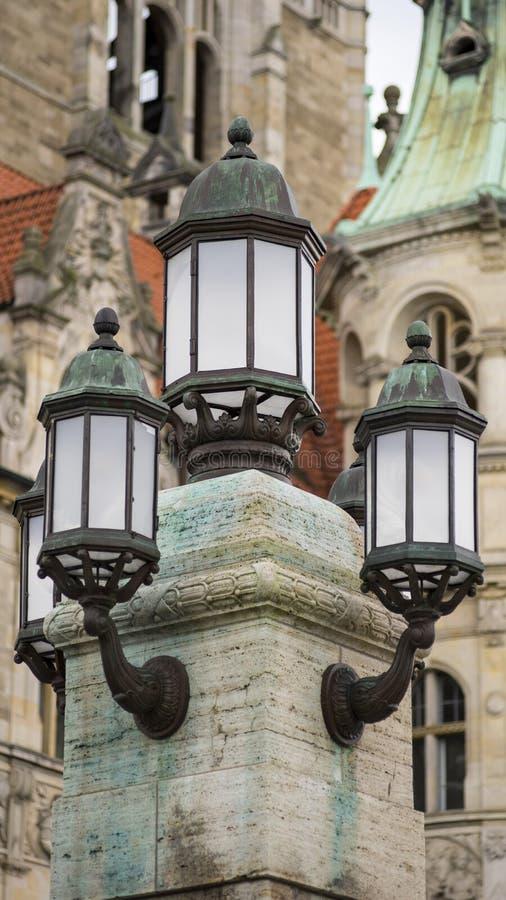 Download Farola Decorativa Hermosa En Hannover Imagen de archivo - Imagen de lamppost, viejo: 64200031