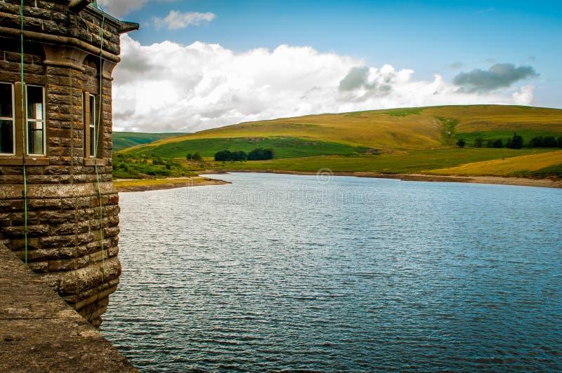 Faros de Brecon del lago imagen de archivo libre de regalías