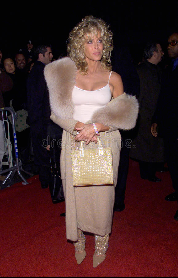 Farrah Fawcett. Actress FARRAH FAWCETT at the New York premiere of her new movie Dr. T & The Women. 10OCT2000. Terry Lester/Featureflash royalty free stock photography