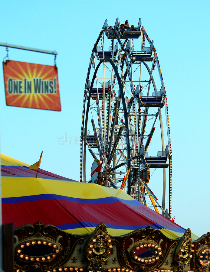 Download Farris Wheel View stock photo. Image of farris, attraction - 173976