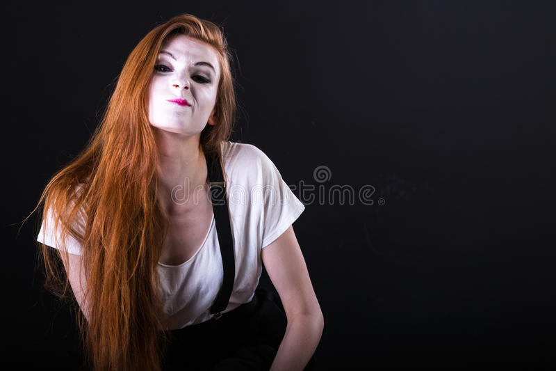 Fars Girl Surprised arkivfoton