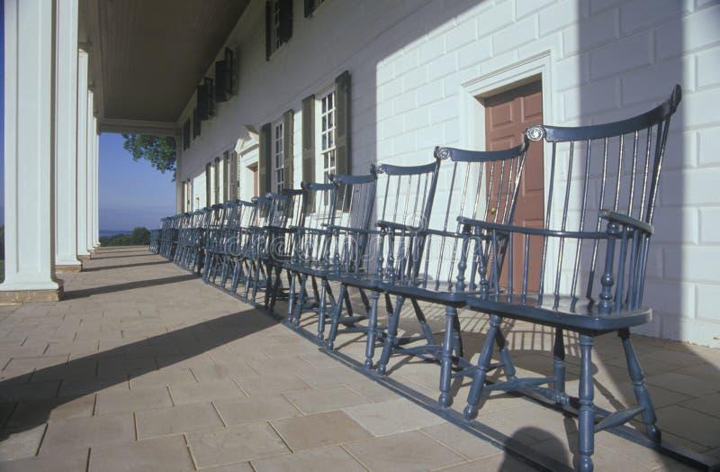 Farstubro på Mt Vernon hem av George Washington, Mt Vernon Alexandria, Virginia arkivbilder