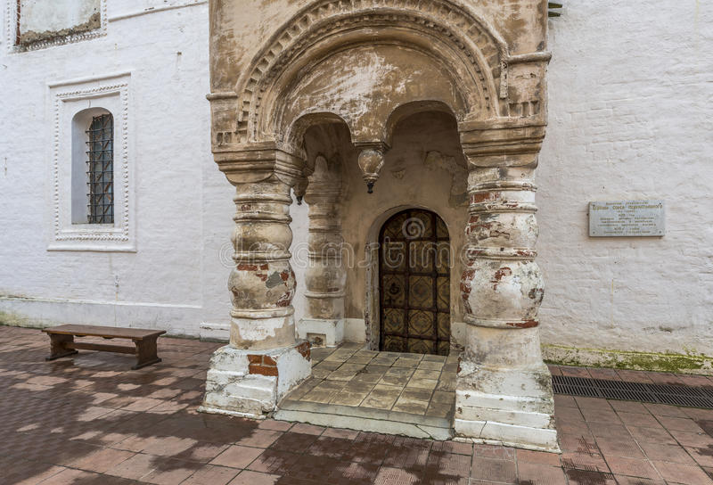 Farstubron av kyrkan av frälsaren arkivfoton